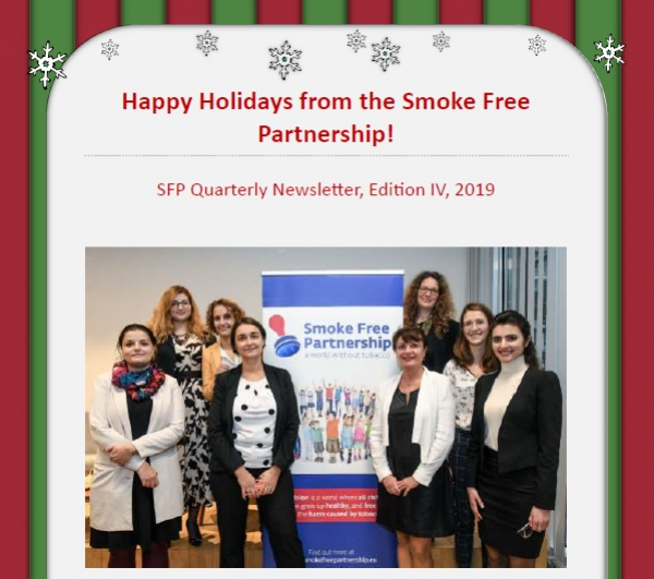 SFP News Update IV: Holiday Edition