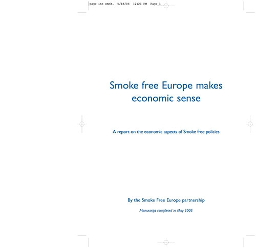 Smoke free Europe makes economic sense