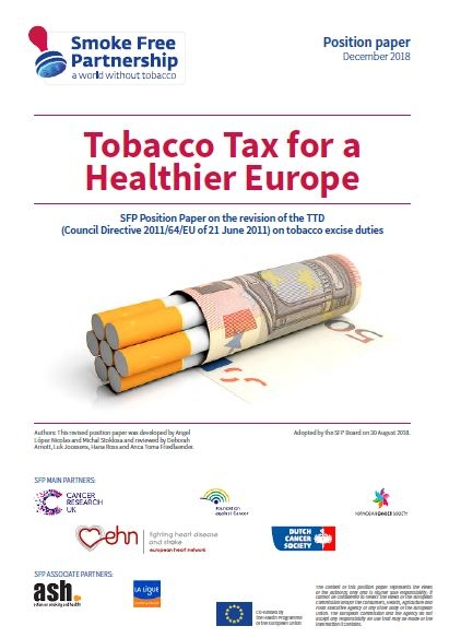 Tobacco Tax for a Healthier Europe: Updated SFP Position Paper