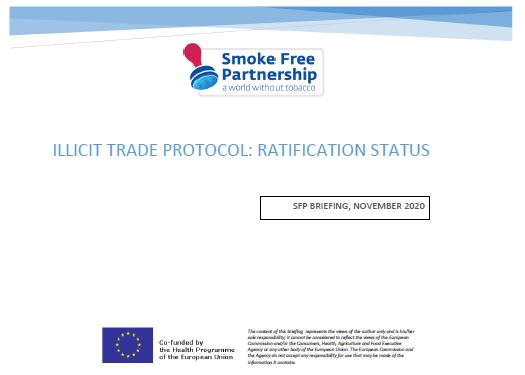 SFP Briefing on the Illicit Trade Protocol Ratification Status