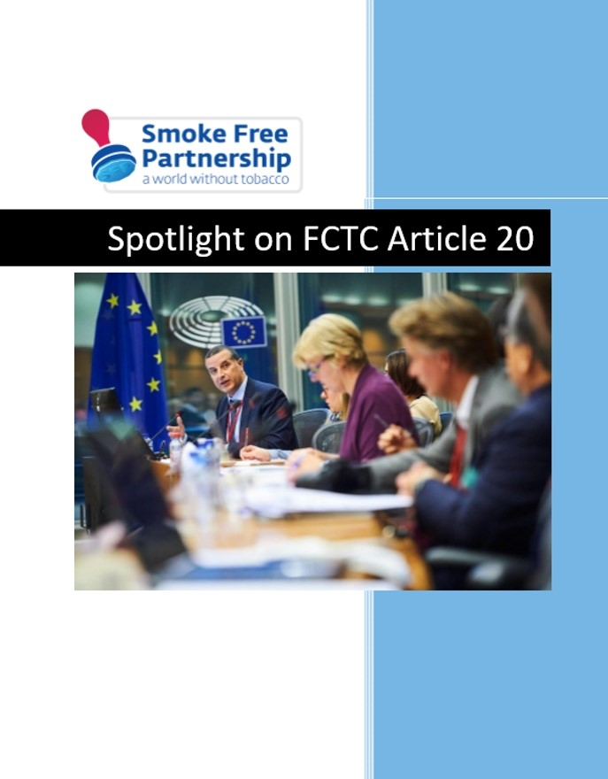 SFP Spotlight on Article 20 of the FCTC