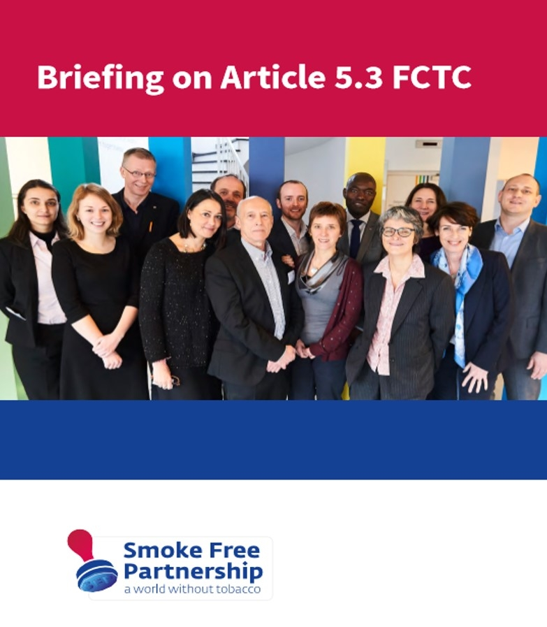 SFP Briefing on Article 5.3 of the FCTC