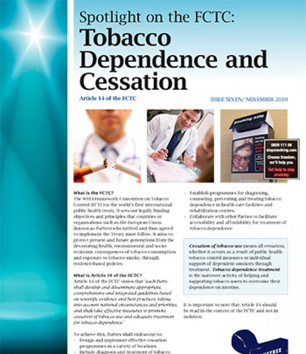 Spotlight 7 - Tobacco Dependence and Cessation